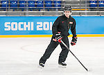 Sochi, RUSSIA - Mar 2 2014 -  Head Coach Mike Mondin during practice before the 2014 Paralympics in Sochi, Russia.  (Photo: Matthew Murnaghan/Canadian Paralympic Committee)