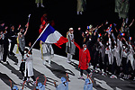 France delegation (FRA),<br />JULY 23, 2021 : <br />Tokyo 2020 Olympic Games Opening Ceremony at the Olympic Stadium in Tokyo, Japan. <br />(Photo by MATSUO.K/AFLO SPORT)