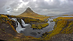 Kirkjufell mountain rises 463 meters above sea level and is the landmark of the small town of Grundarfjör on the Snaefellsnes peninsula on the west coast of Iceland. (Bob Gathany)
