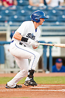 August 19,2010 Charlie Blackmon (7) during the MiLB game between the Midland RockHounds and the Tulsa Drillers at OneOk Field in Tulsa Oklahoma.