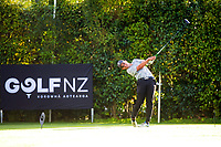 Liam Finlayson. Day one of the Brian Green Property Group NZ Super 6s Manawatu at Manawatu Golf Club in Palmerston North, New Zealand on Thursday, 25 February 2021. Photo: Dave Lintott / lintottphoto.co.nz