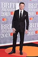 Hugh Jackman<br /> arriving for the BRIT Awards 2019 at the O2 Arena, London<br /> <br /> ©Ash Knotek  D3482  20/02/2019<br /> <br /> *images for editorial use only*