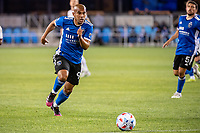 SAN JOSE, CA - MAY 01: Judson #93 of the San Jose Earthquakes chases the ball during a game between San Jose Earthquakes and D.C. United at PayPal Park on May 01, 2021 in San Jose, California.