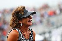May 1, 2016; Baytown, TX, USA; Kay Torrence , mother of NHRA top fuel driver Steve Torrence during the Spring Nationals at Royal Purple Raceway. Mandatory Credit: Mark J. Rebilas-USA TODAY Sports