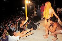 """- gathering of """"bikers"""" motorcyclists, striptease show ....- raduno di motociclisti """"bikers"""", spettacolo di spogliarello"""
