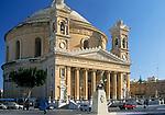 MLT, Malta, Mosta: Rotunda da St. Marija Assunta (Kirche St. Maria) | MLT, Malta, Mosta: Rotunda da St. Marija Assunta (St. Mary's Church)