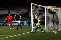 27th March 2021; Dens Park, Dundee, Scotland; Scottish Championship Football, Dundee FC versus Dunfermline; Jason Cummings of Dundee wheels away after scoring for 2-1
