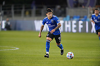 SAN JOSE, CA - MAY 1: Eduardo Lopez #9 of the San Jose Earthquakes during a game between D.C. United and San Jose Earthquakes at PayPal Park on May 1, 2021 in San Jose, California.