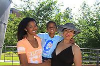 07-06-13 Renee Elise Goldsberry - son Benjamin - mom Betty - Animal Crackers