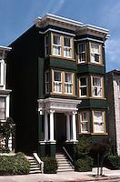 San Francisco: House, Sacramento Street.  Photo '78.
