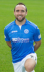 St Johnstone FC 2014-2015 Season Photocall..15.08.14<br /> Lee Croft<br /> Picture by Graeme Hart.<br /> Copyright Perthshire Picture Agency<br /> Tel: 01738 623350  Mobile: 07990 594431
