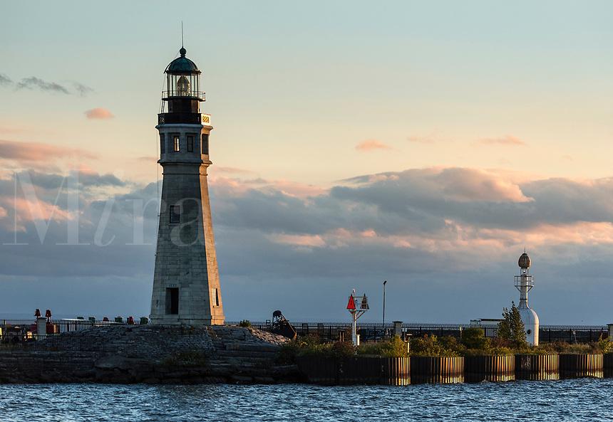 Buffalo Lighthouse, Buffalo, New York, USA.