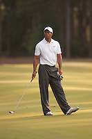 PONTE VEDRA BEACH, FL - MAY 6: Tiger Woods waits on the 11th fairway during his practice round on Wednesday, May 6, 2009 for the Players Championship, beginning on Thursday, at TPC Sawgrass in Ponte Vedra Beach, Florida.