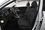 Front seat view of a 2017 KIA Niro LX PHEV 5 Door Hatchback front seat car photos
