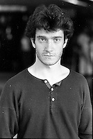 August 23, 1987 File Photo - Montreal (Qc) Canada - French <br /> actor Thierry Fremont<br /> <br /> Thierry Frémont (born 12 July 1962) is a French actor. He has appeared in over 65 films and television shows since 1984. He starred in the 1991 film Fortune Express, which was entered into the 41st Berlin International Film Festival.
