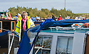 26/09/2010   Copyright  Pic : James Stewart.006_union_canal  .::  HELIX PROJECT ::  THE HELIX NARROW BOAT ON THE UNION CANAL AS IT TAKES PART IN THE 10 YEAR ANNIVERSARY CELEBRATIONS :: GRACE TAKES TO THE HELM ::.