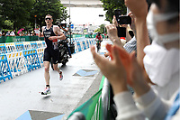 29th August 2021; Tokyo, Japan; George Peasgood (GBR), <br /> Triathlon : Men's PTS5<br /> during the Tokyo 2020 Paralympic Games at the Odaiba Marine Park in Tokyo, Japan.