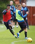 Gedion Zelalem and Dean Shiels