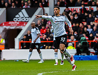 Derby County's defender Curtis Davies (33)  during the Sky Bet Championship match between Nottingham Forest and Derby County at the City Ground, Nottingham, England on 10 March 2018. Photo by Stephen Buckley / PRiME Media Images.
