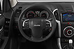 Car pictures of steering wheel view of a 2019 Isuzu D-Max LSX 5 Door Pick-up Steering Wheel