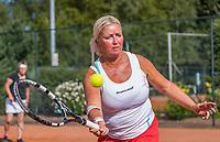 Etten-Leur, The Netherlands, August 27, 2017,  TC Etten, NVK, Woman's doubles Liesbeth Meij / Josephine van der Stroom (R)<br /> Photo: Tennisimages/Henk Koster