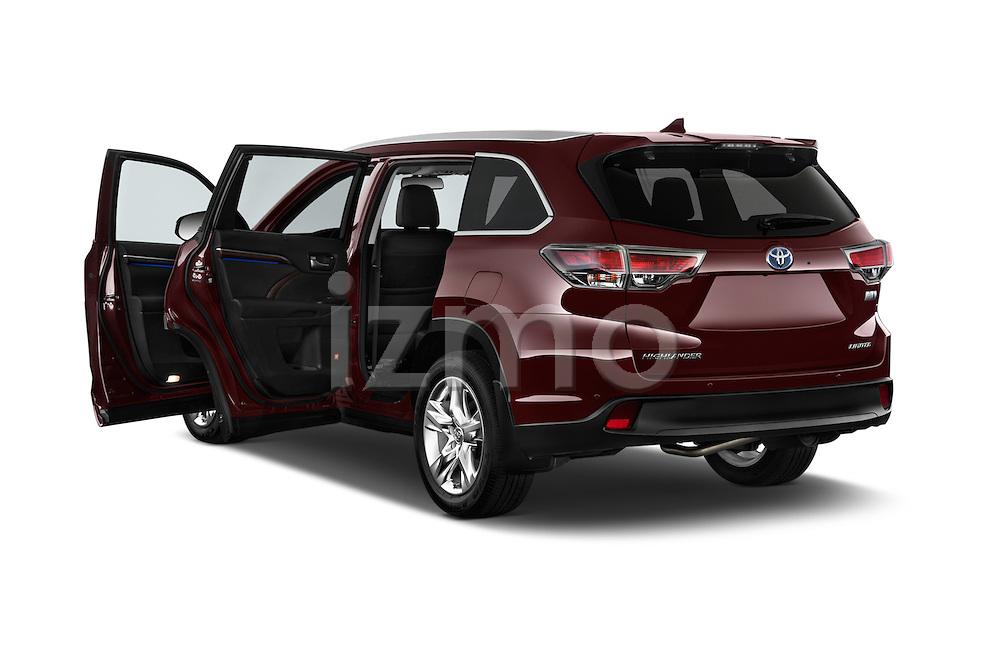Car images of a 2015 Toyota Highlander Limited Hybrid 4x4 5 Door SUV Doors