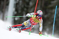 21st December 2020; Alta Badia Ski Resort, Dolomites, Italy; International Ski Federation World Cup Slalom Skiing; Henrik Kristoffersen (NOR)