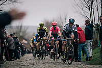 Matteo TRENTIN (ITA/Mitchelton-Scott) up the Oude Kwaremont<br /> <br /> 71th Kuurne-Brussel-Kuurne 2019 <br /> Kuurne to Kuurne (BEL): 201km<br /> <br /> ©kramon