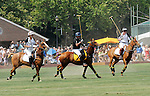 (R) Prince Harry at the 3rd Annual Veuve Clicquot Polo Classic on Governors Island on June 27, 2010.