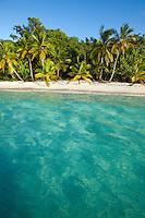 Salomon beach, Virgin Islands National Park, St. John
