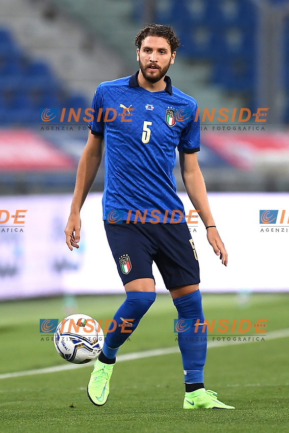 Manuel Locatelli<br /> Uefa European friendly football match between Italy and Czech Republic at stadio Renato Dall'Ara in Bologna (Italy), June, 4th, 2021. Photo Image Sport / Insidefoto