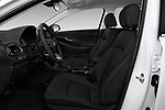 Front seat view of a 2018 Hyundai Elantra GT GT Auto 5 Door Hatchback front seat car photos