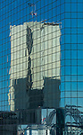 CBD office building reflection in another office bulding in Sydney, NSW, Australia