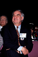 Montreal, CANADA, April 13, 1994 File  Photo of Guy Saint-Pierre when he was President of SNC, which  became  SNC-Lavallin, He was attending the Liberal Party tribute to its former leader Robert Bourassa,April 13, 1994.<br /> <br /> Photo : Agence Quebec Presse - Pierre Roussel