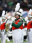 A Notre Dame Fighting Irish band member in action during the 2010 Hyundai Sun Bowl football game between the Notre Dame Fighting Irish and the Miami Hurricanes at the Sun Bowl Stadium in El Paso, Tx. Notre Dame defeats Miami 33 to 17...