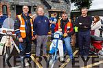 Alan  Kelleher, Tom Kelleher, Ger Sullivan and Gene O'Sullivan enjoying the Beaufort Honda 50 run on Sunday morning