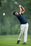 Shubham Narain of India in action during the 9th Faldo Series Asia Grand Final 2014 golf tournament on March 19, 2015 at Faldo course in Mid Valley clubhouse in Shenzhen, China. Photo by Xaume Olleros / Power Sport Images