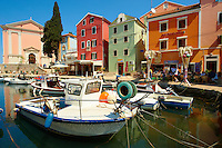 The Picturesque fishing harbour of Veli Lo?inj , Lo?inj Island, Croatia
