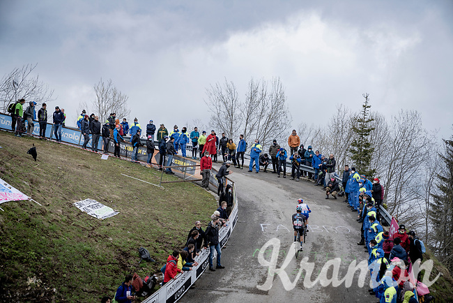 Nicolas Roche (IRE/DSM) up the final part of the Monte Zoncolan <br /> <br /> 104th Giro d'Italia 2021 (2.UWT)<br /> Stage 14 from Cittadella›Monte Zoncolan (205km)<br /> <br /> ©kramon