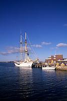 Beauty of New England Harbour Beauty in Woods Head Massachusetts.