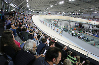 A general view at the BikeNZ Elite & U19 Track National Championships, Avantidrome, Home of Cycling, Cambridge, New Zealand, Friday, March 14, 2014. Credit: Dianne Manson
