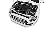 Car Stock 2017 Toyota Tacoma TRD Sport 4 Door Pick Up Engine  high angle detail view