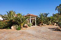Facade of Mediterranean style home
