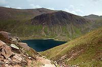 Loch Avon and Beinn Mheadhoin from Coire Rairbeirt, Cairngorm National Park, Badenoch & Speyside