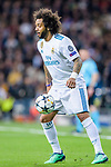 Marcelo Vieira Da Silva of Real Madrid in action during the UEFA Champions League 2017-18 quarter-finals (2nd leg) match between Real Madrid and Juventus at Estadio Santiago Bernabeu on 11 April 2018 in Madrid, Spain. Photo by Diego Souto / Power Sport Images
