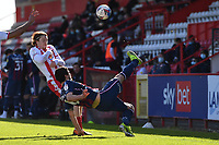 Anthony O'Connor of Bradford City AFC ands19` during Stevenage vs Bradford City, Sky Bet EFL League 2 Football at the Lamex Stadium on 5th April 2021