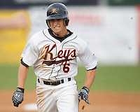 Angle, Matt 1446.jpg. Carolina League Myrtle Beach Pelicans at the Frederick Keys at Harry Grove Stadium on May 13th 2009 in Frederick, Maryland. Photo by Andrew Woolley.