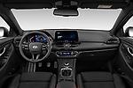 Stock photo of straight dashboard view of 2020 Hyundai i30 Sky-Line 5 Door Wagon Dashboard