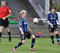 Club Brugge Dames - STVV Sint Truidense VV : Silke Demeyere.foto DAVID CATRY / Nikonpro.be