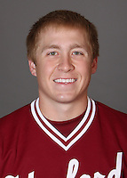 STANFORD, CA - NOVEMBER 11:  Andrew Clauson of the Stanford Cardinal during baseball picture day on November 11, 2009 in Stanford, California.